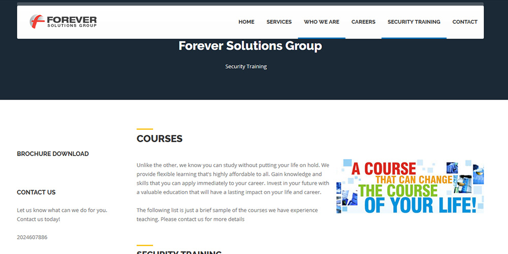 Forever Solutions Group - Anchora Technologies
